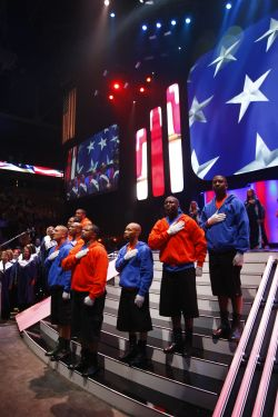 National_Anthem at Wal-Mart shareholders' meeting 2009