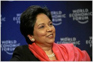 Indra Nooyi - World Economic Forum Annual Meeting Davos 2008 by Remy Steinegger and World Economic Forum, under a Creative Commons license on flickr.com