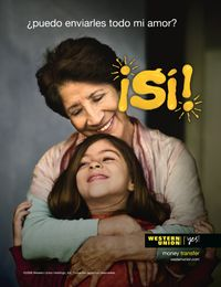 Western Union Yes! global marketing campaign