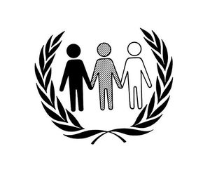 Official Emblem for International Anti-apartheid Year by United Nations Photo, under a Creative Commons license on flickr.com.