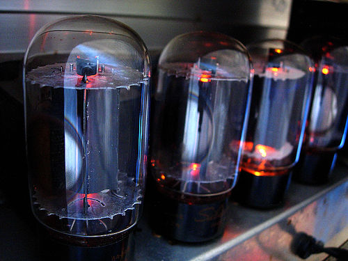 Four Tubes in a Row by Mike Cohn
