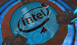 Visiting Intel's Second Life Island by iconolith.