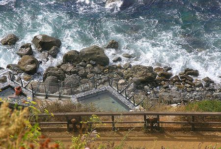 Esalen Hot Springs by boltron
