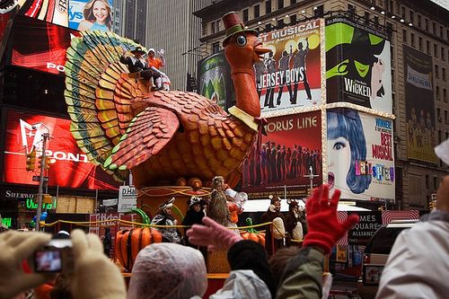 Thanksgiving - Macy's Thanksgiving Day Parade, Turkey, by mdpNY