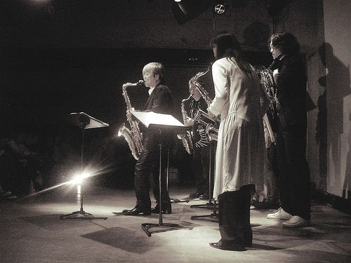 Yasuaki Shimizu & Saxophonettes by Aurelio.Asiain