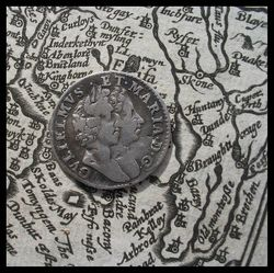 Old Map, Old Silver by seriykotik1970