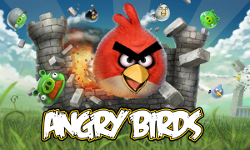 Angry Birds promotional illustration.  Courtesy of Rovio Mobile on Wikimedia Commons