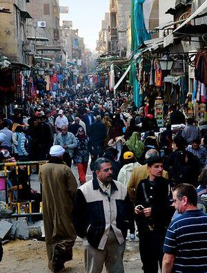 Cairo bazaar by Ed Yourdon