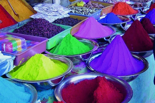 Holi paint by On the Go Tours