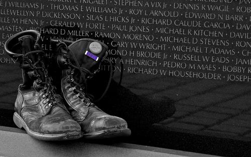 Purple Heart by Ed Siasoco