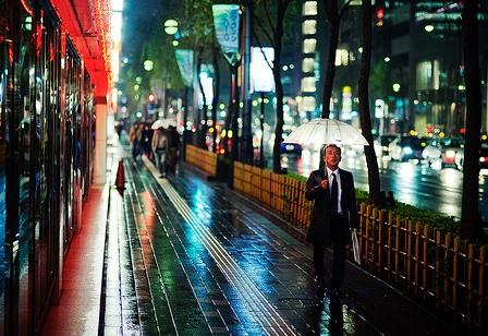 Walk in the Rain by JamesJustin