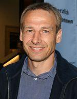 Soccer coach Jurgen Klinsmann