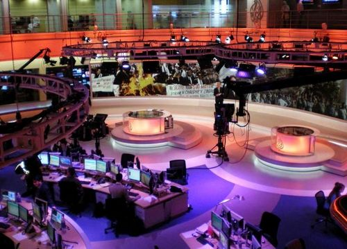 Al Jazeera English Doha Newsroom