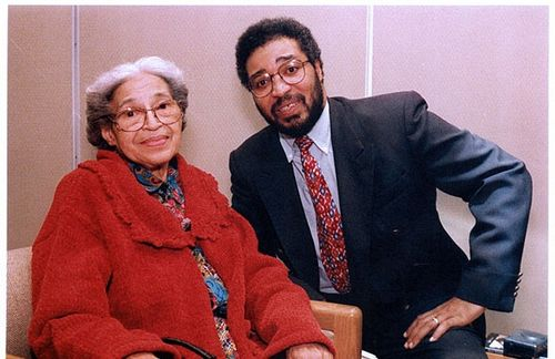 Gregory Lewis with Rosa Parksjpg
