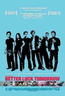 Better Luck Tomorrow film poster