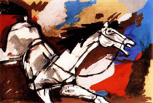 Horse by M.F. Husain